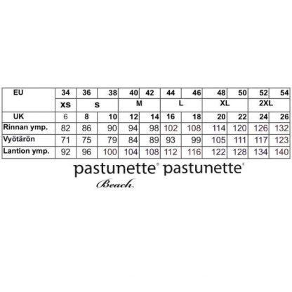 Pastunette_trikoomekko__kukkakuviollinen__pituus_95cm