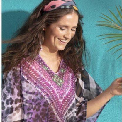 Pastunette_kaftaani__vari_purple__100__polyesteri__yksi_koko__pituus_92cm