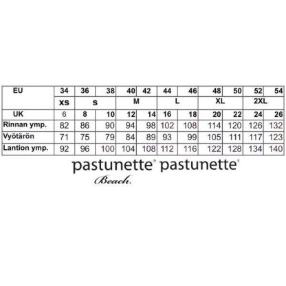 Pastunette_trikoomekko__lyhyet_hihat__valja_A_linja__pituus_95cm